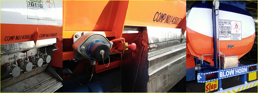 Products | S  K  Engineering Works | Petroleum road tankers